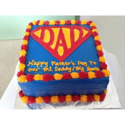 Small Crop Of Fathers Day Cake