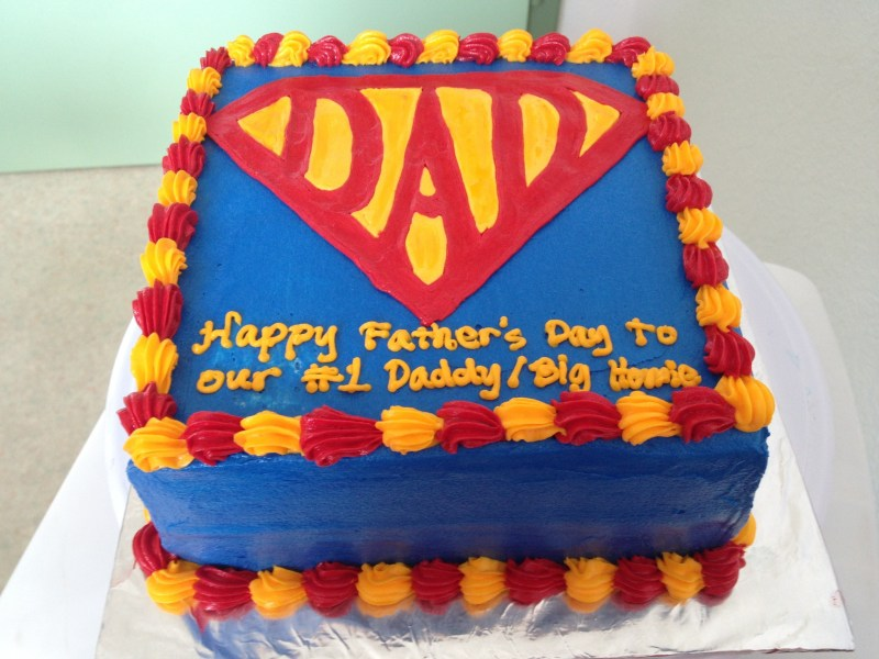 Large Of Fathers Day Cake