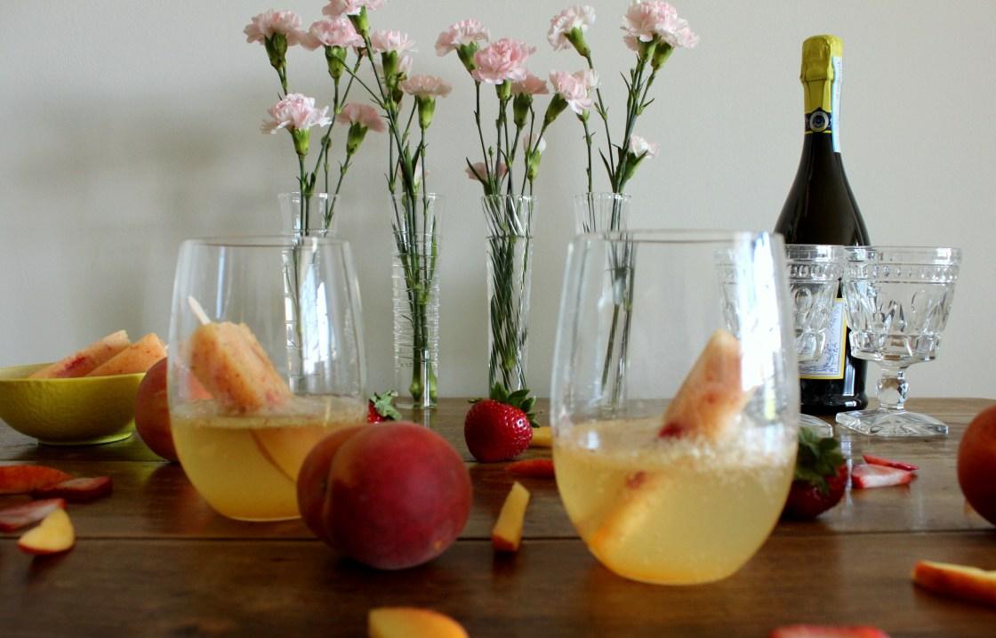 Boozy Peach Ice Pops_Twine And Braids