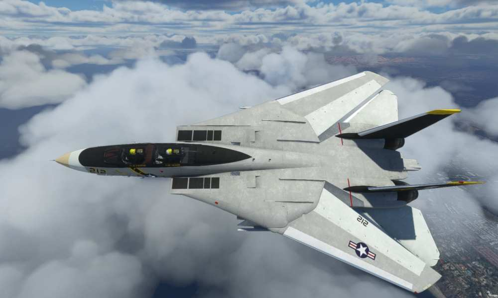 Microsoft Flight Simulator F-14 Tomcat,TF-104G Starfighter,&F-35 Lightning II获取新视频& Screenshots