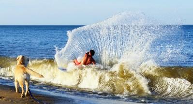 Dewey Beach Skimboarding