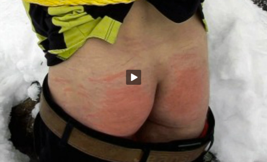 Bare Ass Birched — Sizzling Twink Punishment