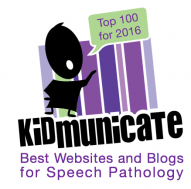 You are visiting a Top 100 Speech & Language Blog!