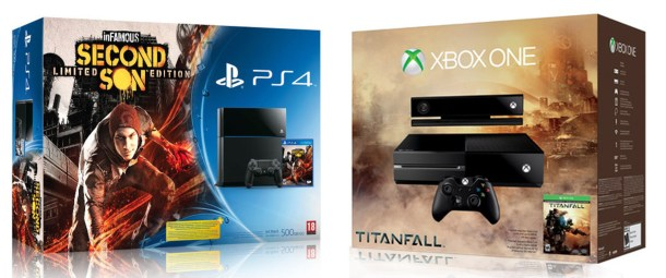 Infamous vs Titanfall