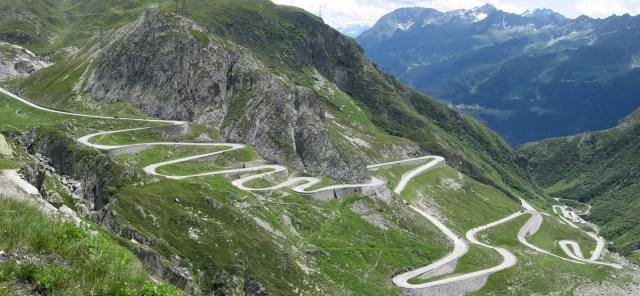 long windy road