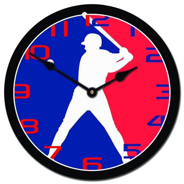Clock baseballjpg