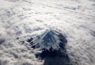 Picture of the Day: Tip of Fuji from anAirplane