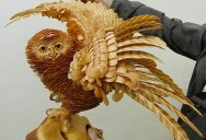 These Amazing Animal Sculptures Were Made from Carefully Cut Layers ofPaper