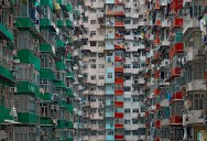 Cramped Hong Kong Apartments from Above
