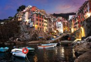 Picture of the Day: Sunrise in Manarola, Italy