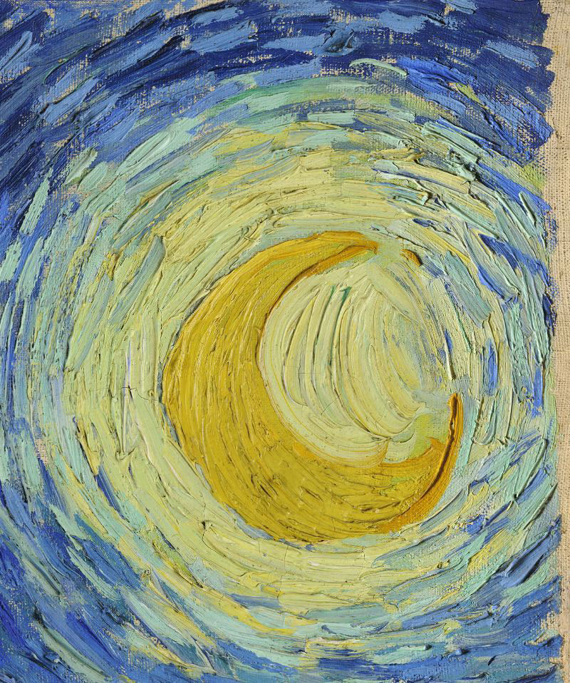 the starry night vincent van gogh close up The Met Just Released 400,000 Hi Res Images of their Collection
