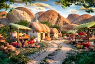 Carl Warner Can Make Landscapes Out of Anything (25 Photos)