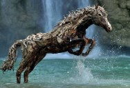James Doran-Webb Makes Incredible Creatures Out ofDriftwood