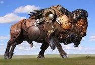 Tomas Vitanovsky Welds Animal Sculptures Out of ScrapMetal