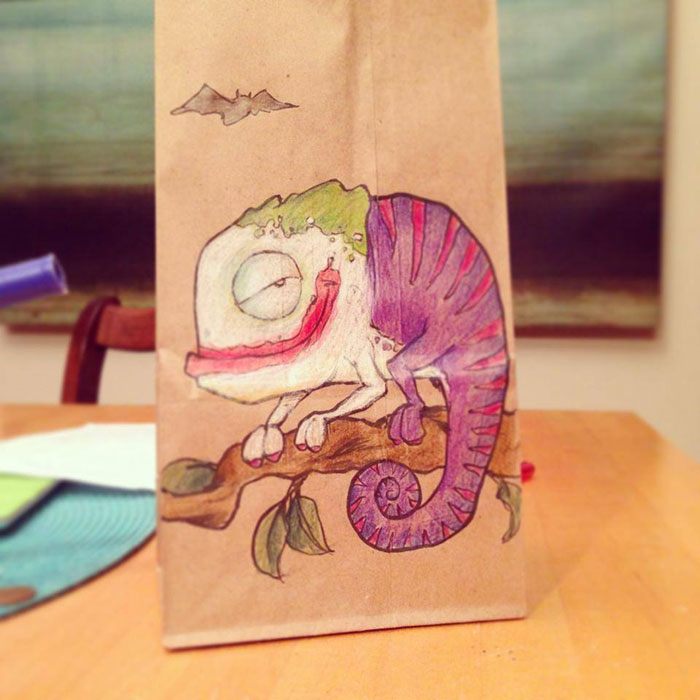 LUNCH BAG ART BY BRYAN DUNN (1)
