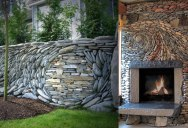 Couple Creates the Most Beautiful Stone Walls Ever