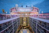 The Largest Cruise Ship in the World is Five Times the Size of the Titanic
