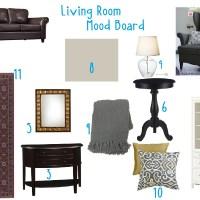 Living Room Mood Board
