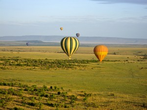 Hot Air Balloons in the Maasai Mara