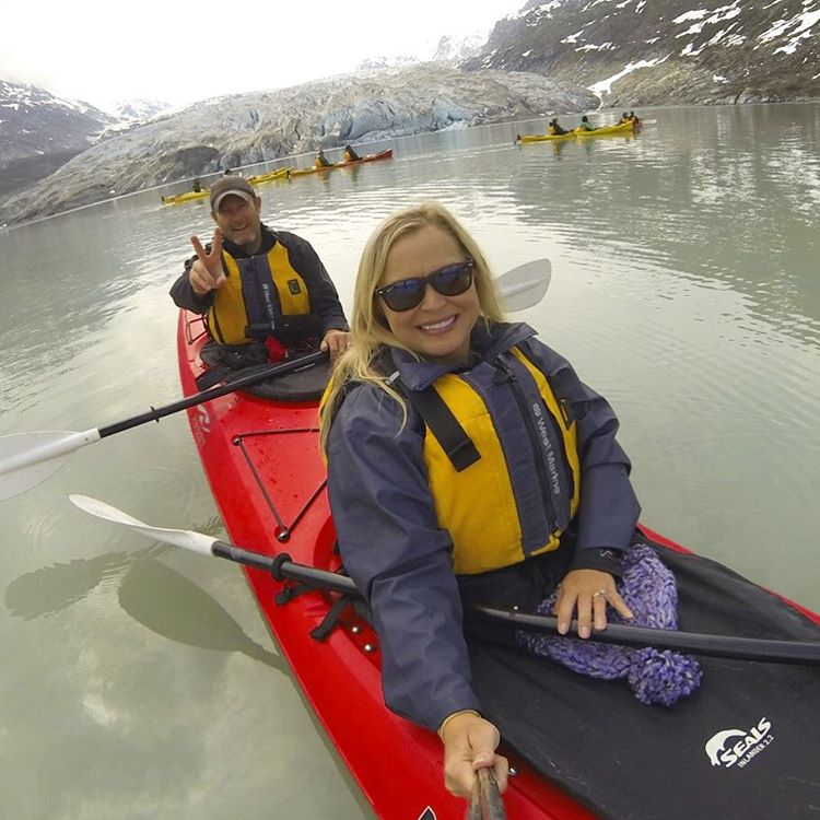 Spent an incredible day kayaking in Alaskas gorgeous Glacier Bayhellip