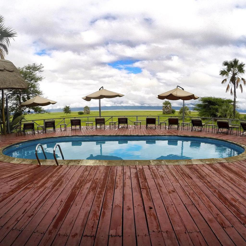 The pool at the Maramboi Tented Camp where we stayedhellip