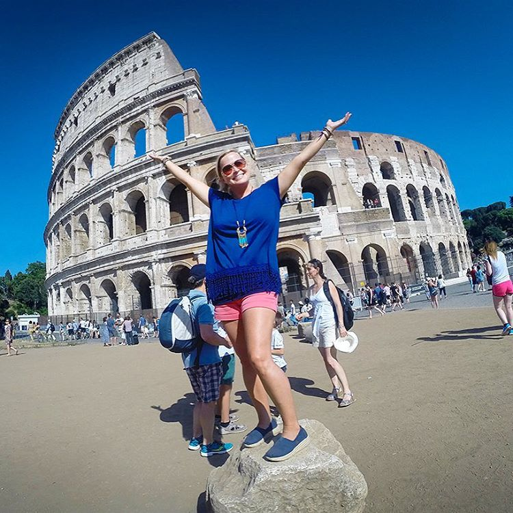 Had an amazing time today exploring beautiful Rome with walksofitalyhellip