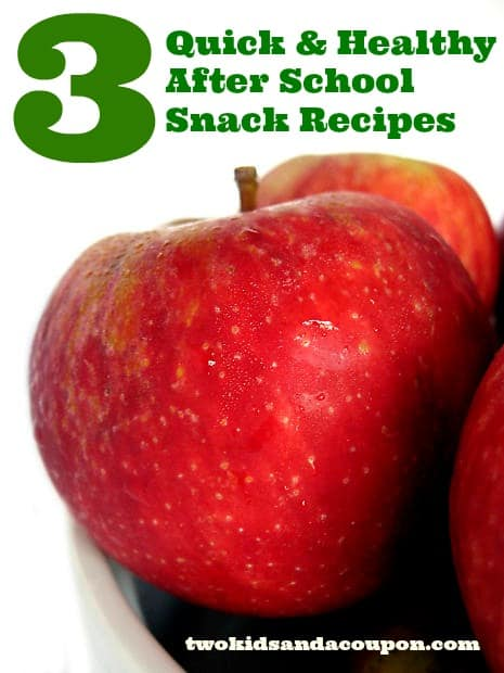 Healthy After School Snack Recipes