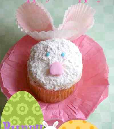 hippity hoppity bunny cupcakes