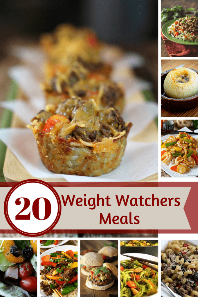 20 Weight Watchers Recipes - Pizza, Stir Fry, Meatloaf and More