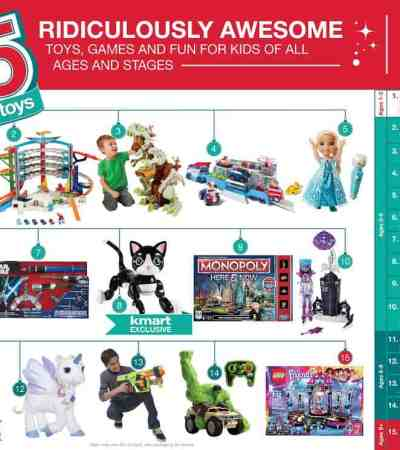 Kmart Fab 15 Toys List