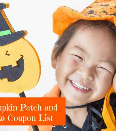 Pumpkin Patch Coupons