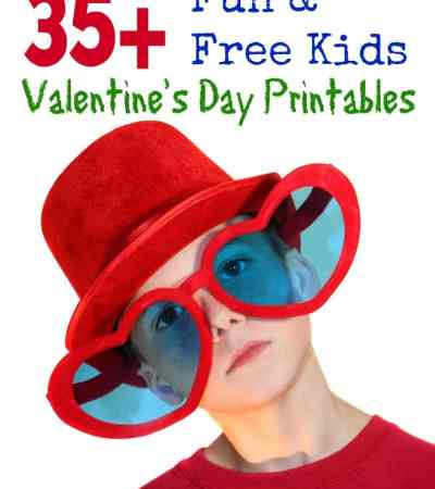 Free Kids Valentine's Day Printables