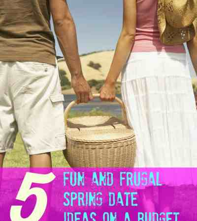 Looking for some new and romantic date ideas to do this spring on a budget? These spring dates are both fun and frugal.