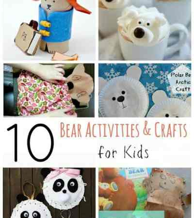 Teddy Bear Crafts