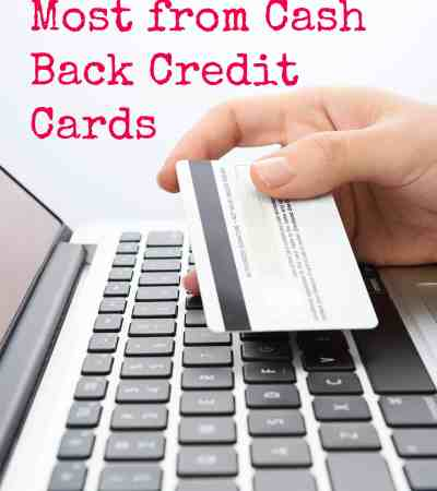 How to get more cash back from credit cards