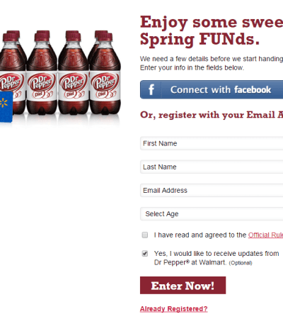 Dr. Pepper Sweepstakes
