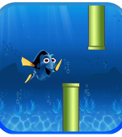 Finding Dory Fish Runner Game on Amazon