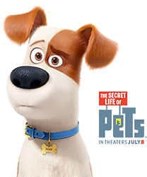 Free Secret Life of Pets Movie Ticket