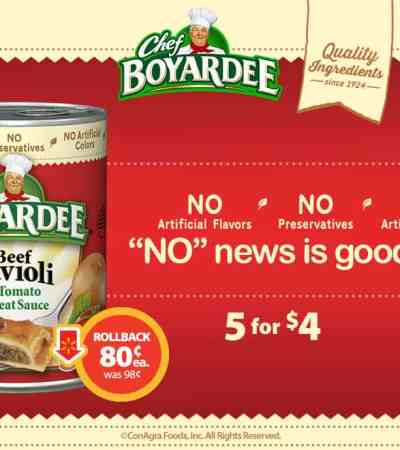 Chef Boyardee Coupon