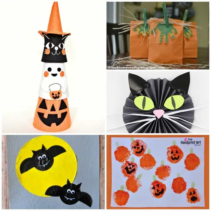 Creative Halloween Crafts for Kids