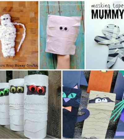 Celebrate Halloween with these spooky mummy crafts for kids.