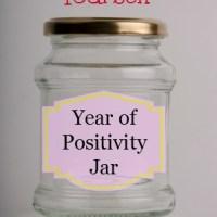 DIY Year of Positivity Jar