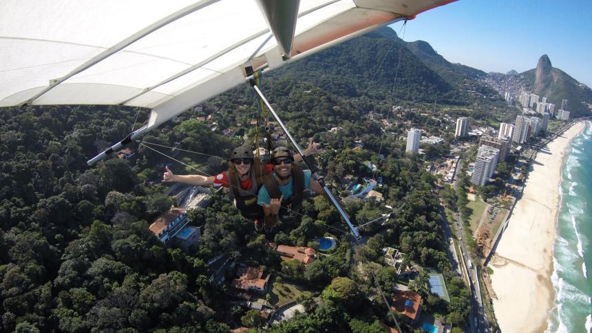 Rio de Janeiro - Brazil - Hang Gliding