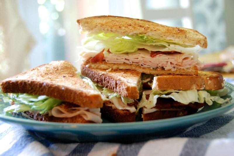 Large Of Turkey Club Sandwich