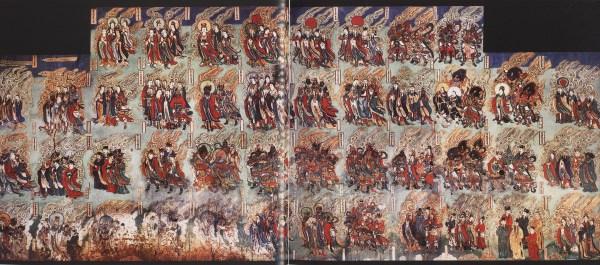 taken from 故城寺壁畫, 16-17