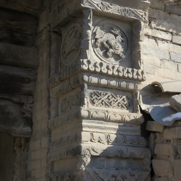 pillar flanking a gate 07