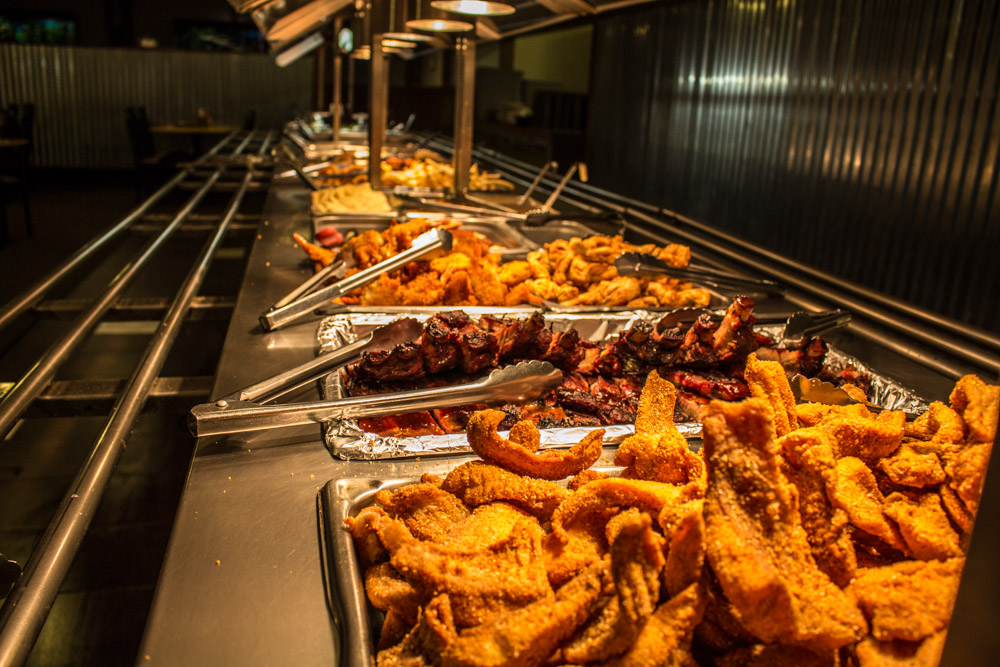 New management is raising the bar at fish creek buffet for Restaurants that serve fish near me