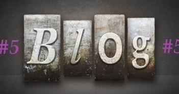 Blog Letterpress