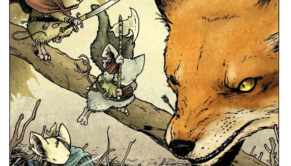 Mouse Guard Boxed Set Cover Art by David Petersen.