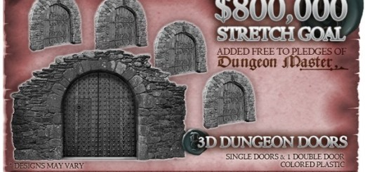 Dungeon Saga Doors